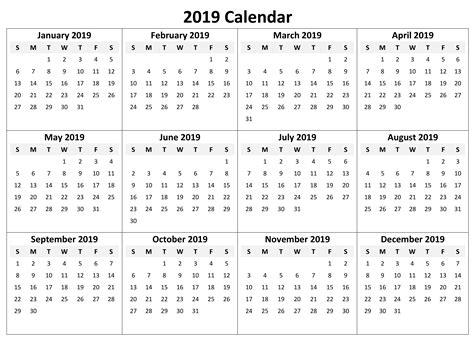 full year calendar  excel task management template
