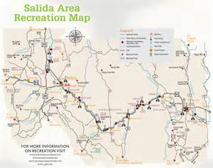salida recreation map go to guide