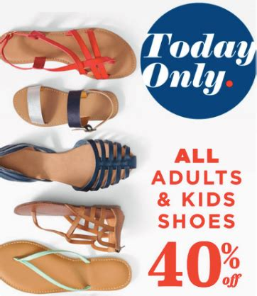 old navy coupons shoes old navy 40 off all adult kids shoes earn super cash