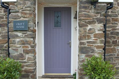 modern country style the best front door paint colours dusky purples