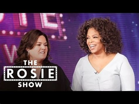 Rosie Says No To Oprah by Oprah Surprises Rosie On Show The Rosie Show