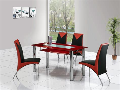 rimini large glass dining table dining table  chairs