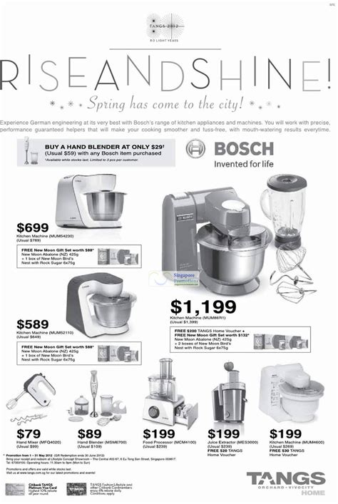 Mixer Bosch Mum52110 tangs bosch appliances honey promotion offers 27 apr 2012