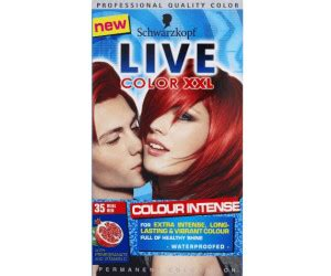 liver color schwarzkopf live color real 35 ab 8 98