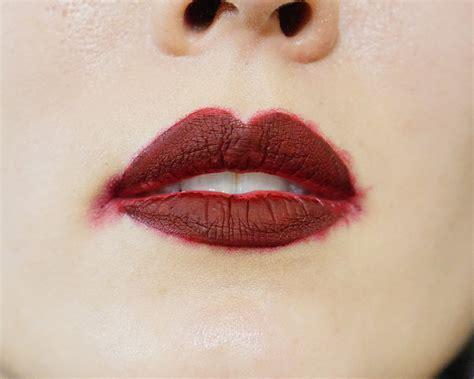 Lipstik Inez Lasting lime crime matte velvetines liquid lipstick review koja
