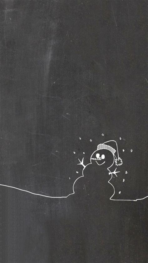 chalkboard paint backdrop winter iphone wallpaper snowman chalkboards and