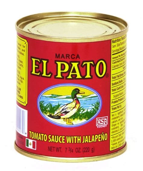 el pato tomato sauce with jalapeno 7 75 oz pack of 6
