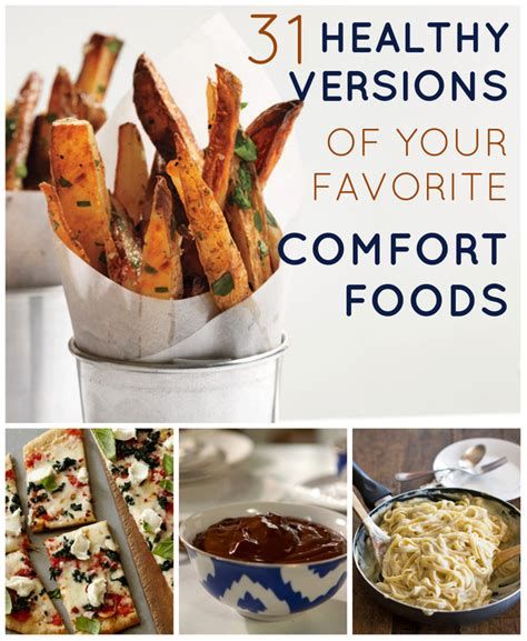 Favorite Comfort Foods by 29 Healthy Versions Of Your Favorite Comfort Foods Take