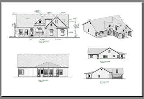 House Plans And Elevations Floor Plans And Elevations Of Houses