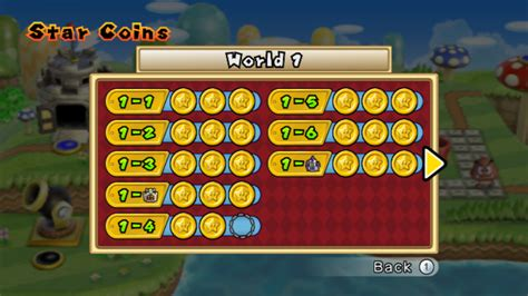 new super mario bros wii star coins new super mario bros wii screenshots for wii mobygames