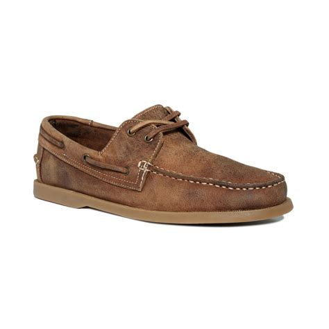 bed stu men s shoes bed stu uncle frank boat shoes in brown for men tan lyst