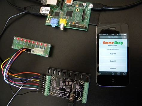 home automation raspberry and phidgets makezilla