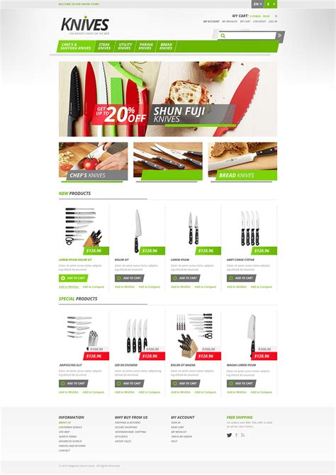 magento themes store responsive knives store magento theme 46201
