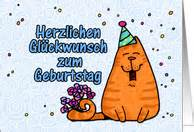 german birthday cards from greeting card universe