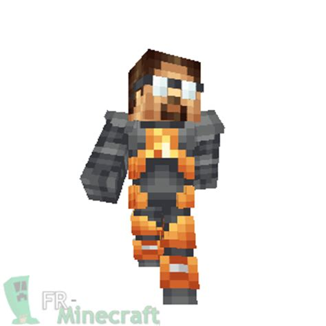 minecraft freeman skin minecraft skin minecraft half gordon freeman