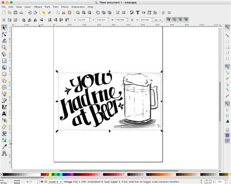 inkscape lettering tutorial how to vectorize hand lettering without photoshop