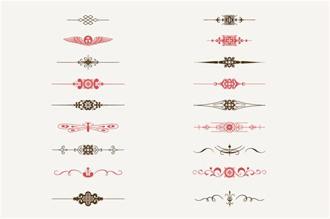 Decorative Text by Decorative Text Dividers N 176 1 Illustrations On Creative