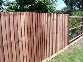 Cheap Garden Fencing Black Bull Fencing Middleton Wood Fencing Middleton