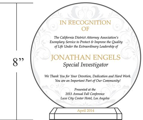 plaque of appreciation template enforcement shield plaque