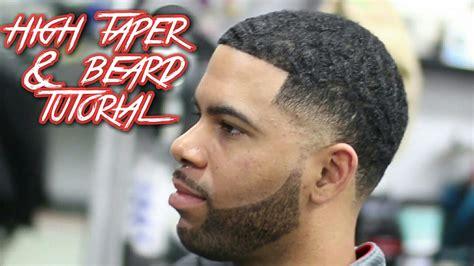 haircut beard youtube high taper beard haircut tutorial with ripples on top