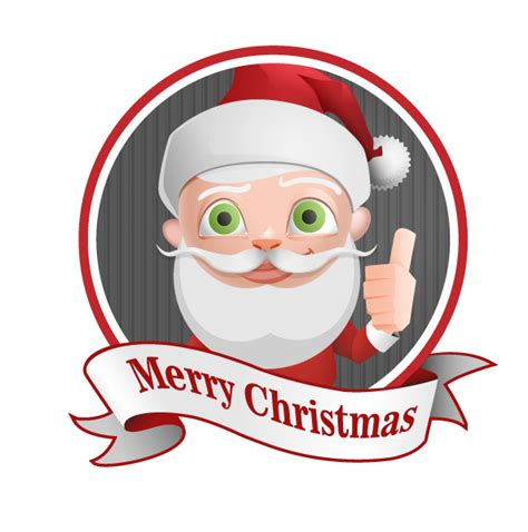 santa claus thumbs up santa claus vector character with thumbs up vector characters