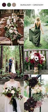fall wedding colors trending 5 burgundy wedding color ideas to