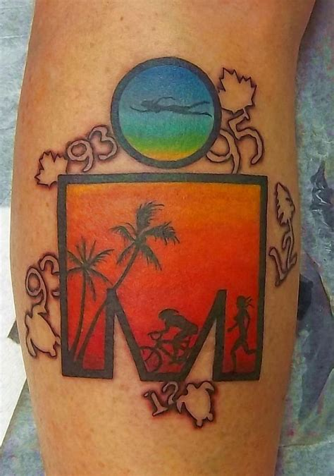 ironman tribal tattoo 20 best triathlon tattoos images on ironman