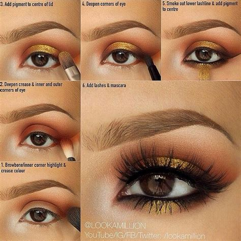eyeliner tutorial with brush 26 best images about morphe 35w palette looks on pinterest