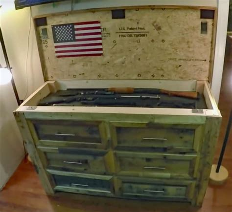 Dresser With Compartment by Building A Clothes Dresser With A Secret Gun
