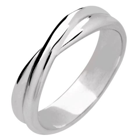 Wedding Ring Width by Shaped Wedding Ring Width 3 8mm All Metals Sw018