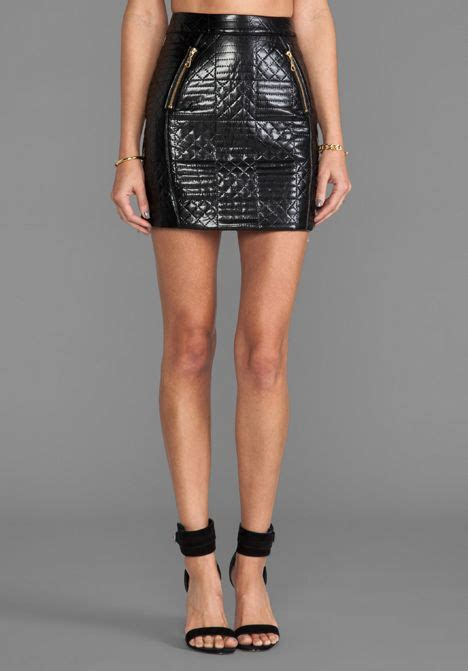 quilted leather mini skirt birthday s
