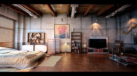 Industrial Apartment by Industrial Loft Youtube