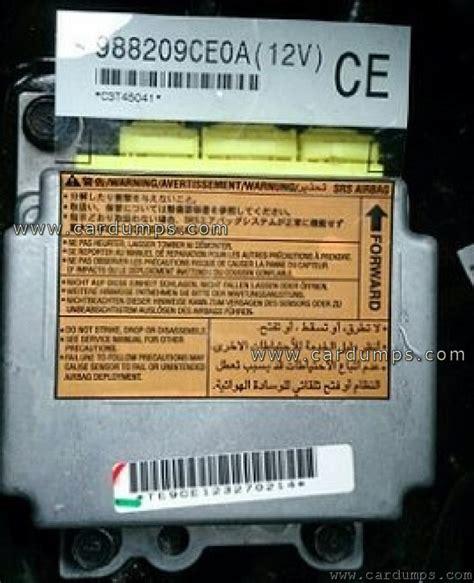 nissan pathfinder airbags nissan pathfinder 2011 airbag 93c76 98820 9ce0a
