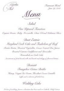 Elegant Table Linens For Weddings - menus archives antonia designs your bespoke vision