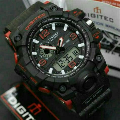 Jam Digiteg Original 30 jual jam tangan digitec dg 2093 original water resist