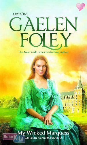 Novel Dastan Harlequinn Gaelen Foley bukukita my marquess rahasia sang marquess