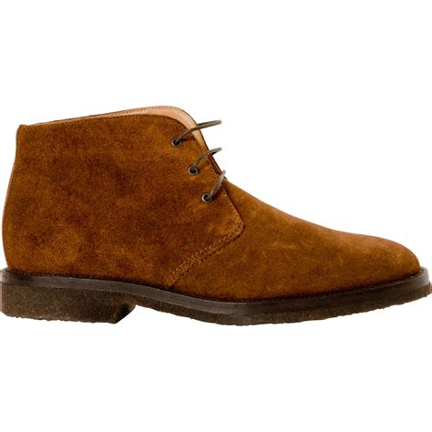 chestnut brown suede desert boots paolo shoes