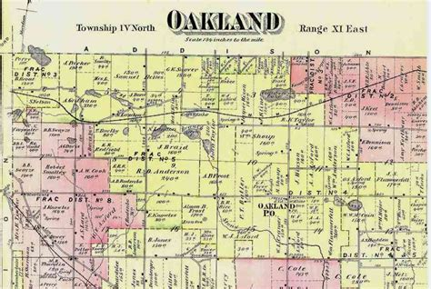 Oakland County Civil Search Map Of Oakland County Michigan Michigan Map