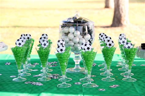 soccer theme decorations soccer theme ideas around my family table