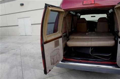 conversion van sofa bed purchase used affordable ford e 150 regency hi top