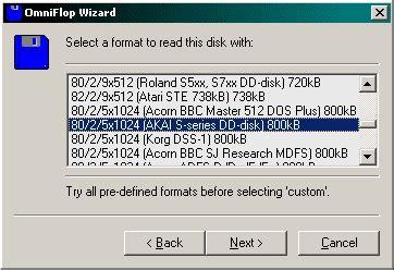 format file jps akai s900 how to transfer akai s900 floppies to pc
