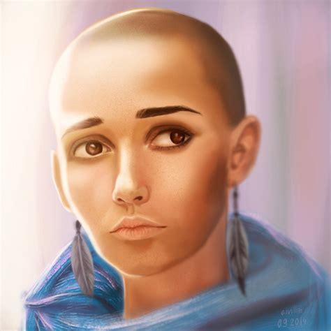 bald woman 2014 bald girl by eivillin on deviantart