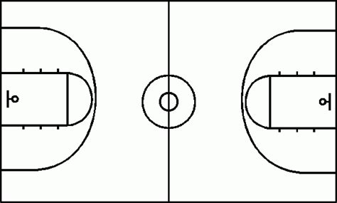 basketball key template angeli s basketball coach x s and o s