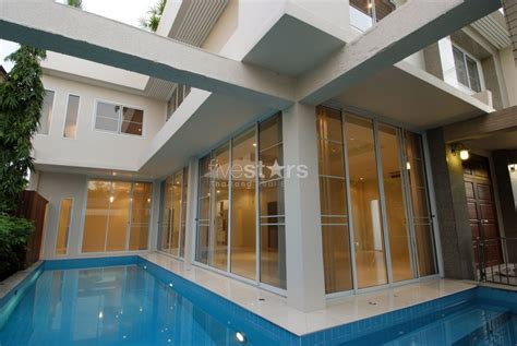 bts house 4 bedroom single house with private pool close to the bts