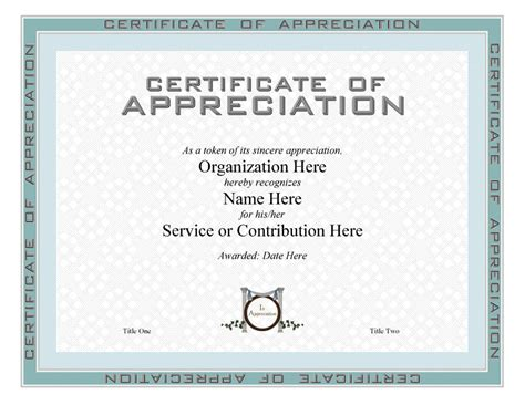 pastor appreciation certificate template 28 images