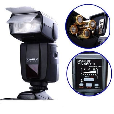 Yongnuo Yn 460 Ii flashes yongnuo yn 460 ii speedlight flash for canon nikon pentax olympus panasonic