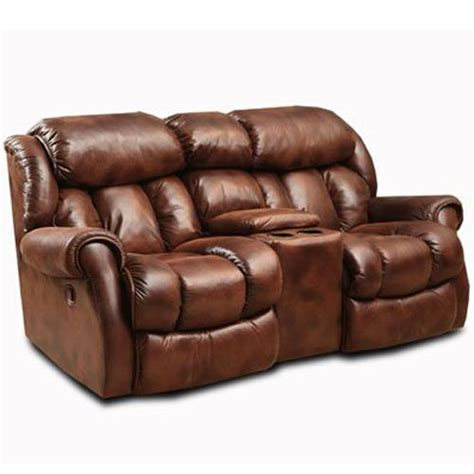loveseat with cup holders homestretch cody casual rocking recliner loveseat with cup