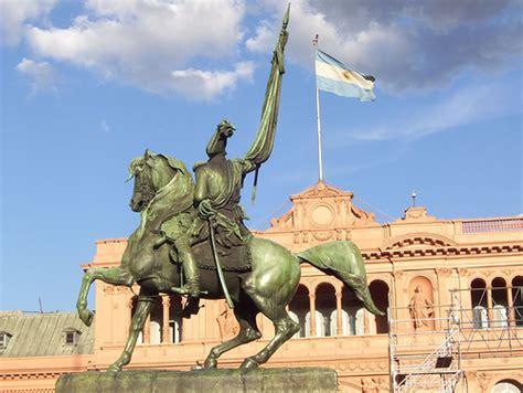 general casa monumento gral manuel belgrano o equestrian statue monume