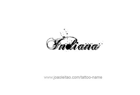 100 indiana usa state name indiana usa state name designs tattoos with names