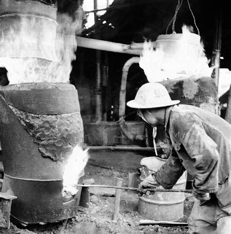 backyard steel furnace backyard furnace in china photograph by everett
